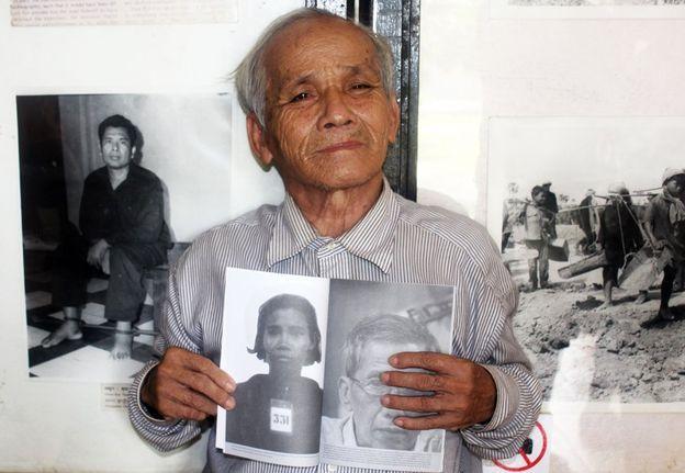 Bou Meng, sobreviviente de la prisión S-21.