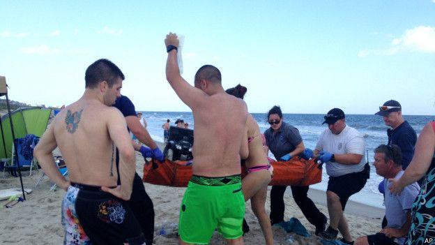 Ataque en playa