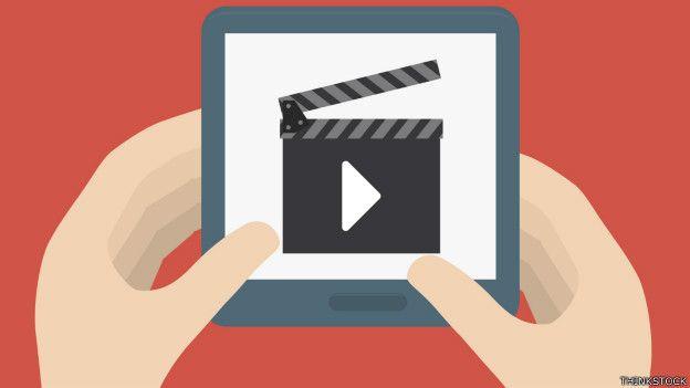 Ilustración de la función de autoreproducción de video