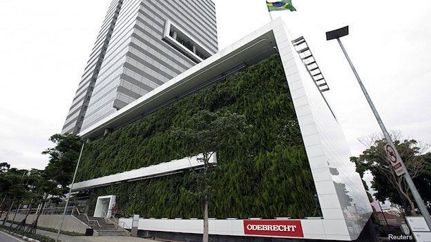 Imagen de la sede central de la empresa Odebrecht en Sao Paulo.