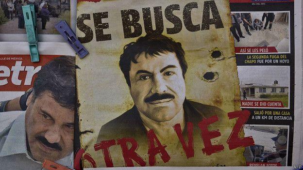 El Chapo - Magazine cover