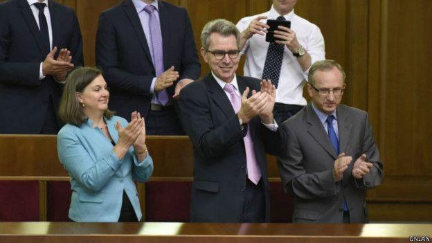 Мы будем поддерживать политику санкций до полного выполнения Минских соглашений, - премьер Бельгии - Цензор.НЕТ 855