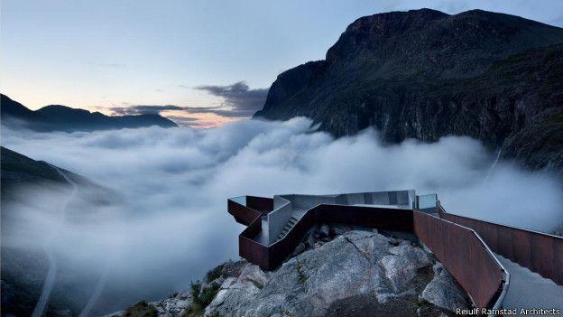 Centro de Visitantes de Trollstigen, Noruega
