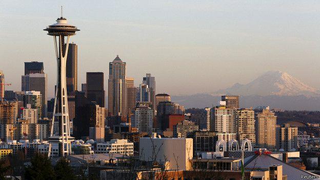 Seattle se encuentra entre las cioudades que resultarían afectadas por un sismo provocado por la falla de Cascadia.