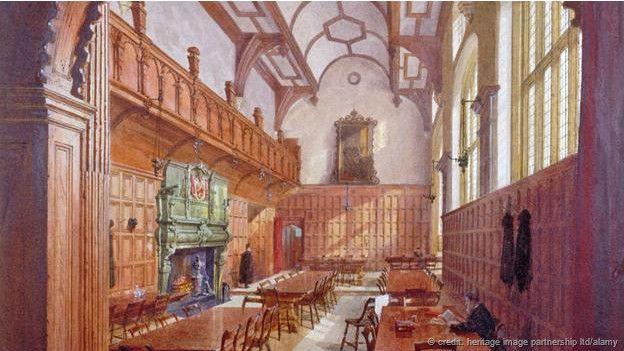 Acuarela de Charterhouse