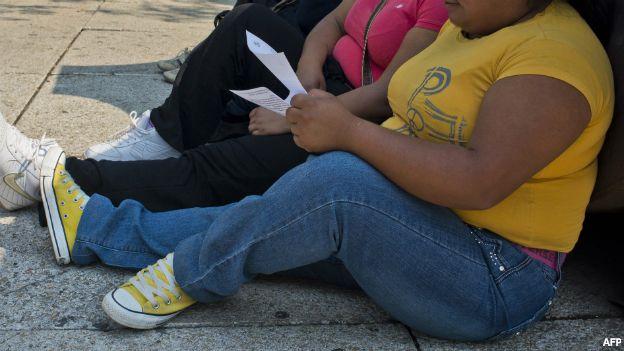 Personas obesas en México