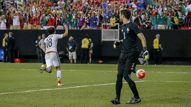 Gol Andrés Guardado
