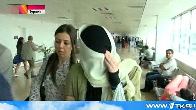Varvara Karaulova regresando a Moscú