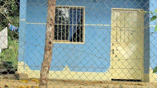 Puerta de una casa