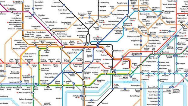 伦敦地铁图:塑造一座城市的设计