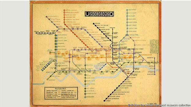 Схема лондонского метро