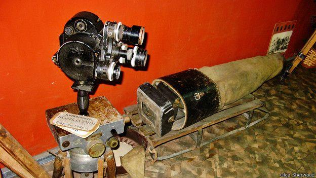 Санки и камера