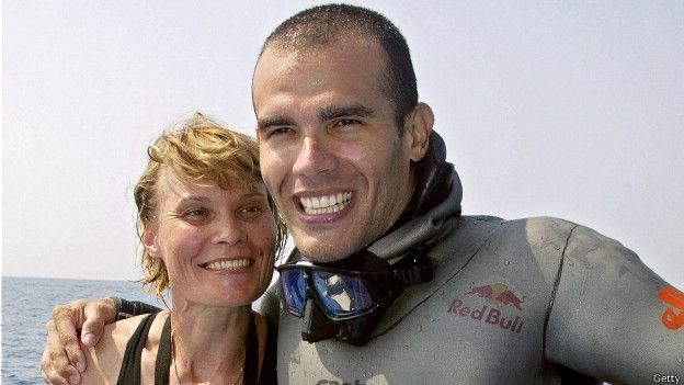 Natalia Molchanova, Carlos Coste