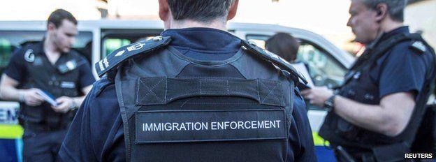 Lực lượng thực thi luật di trú của Anh