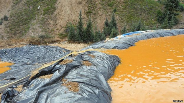EE.UU.: el derrame tóxico que tornó amarillo mostaza al río Colorado 150810202422_sp_colorado_624x351_reuters