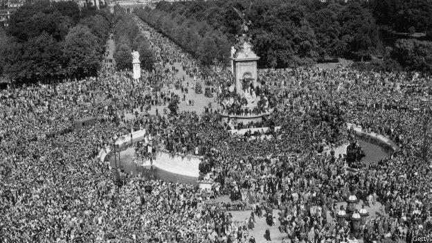 Celebraciones en Buckingham Palace
