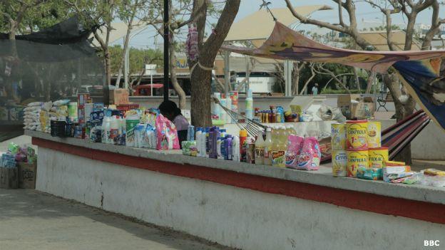 Productos venezolanos de contrabando