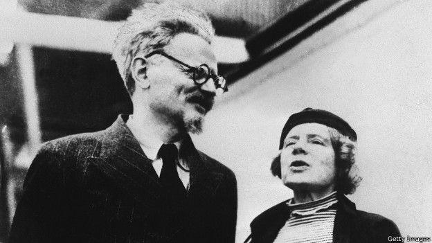 Троцкий и Седова
