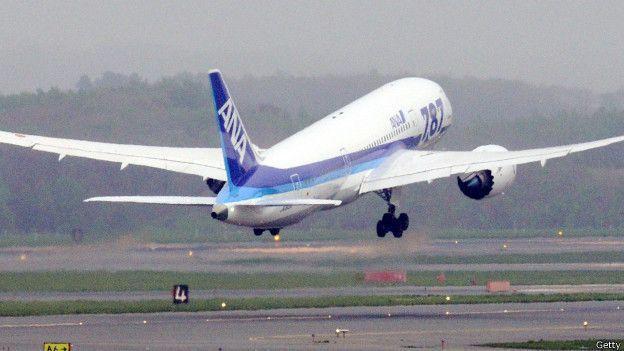 Avión de la agencia japonesa ANA