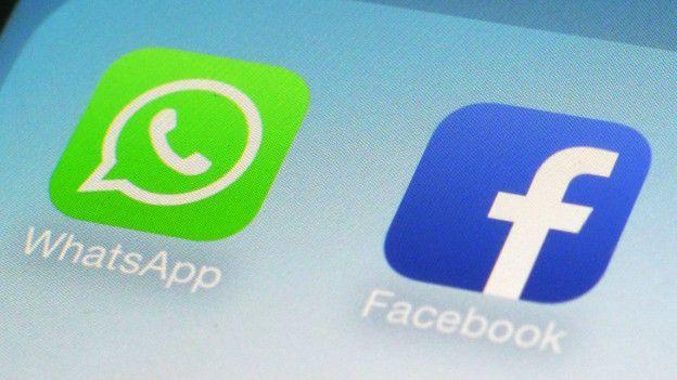 WhastApp y Facebook