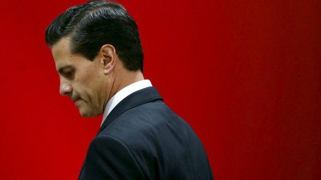 Presidente de México Enrique Peña Nieto.