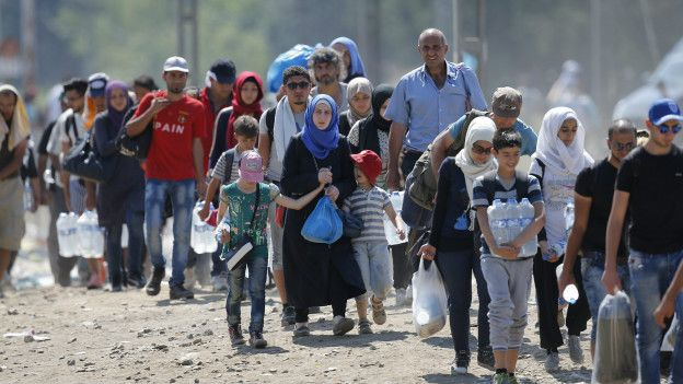 Refugiados (EPA)