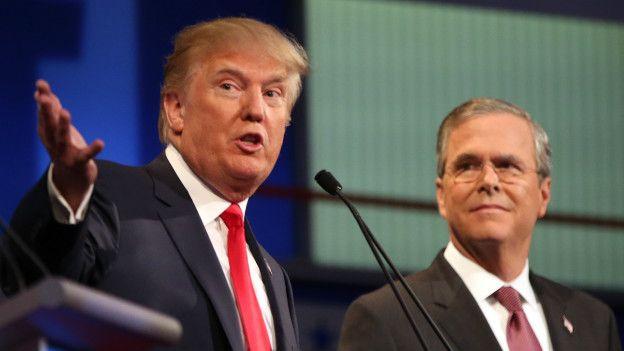 Trump y Bush