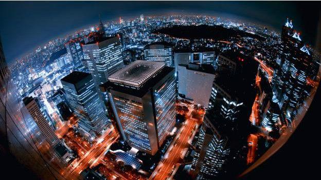 Una mega ciudad