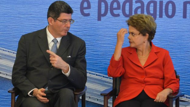 Levy e Dilma (Foto: PR)