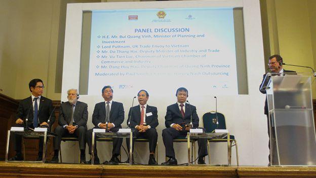 Phần thảo luận tại Diễn đàn Kinh tế Việt Nam Anh Quốc hôm 10/9 tại London