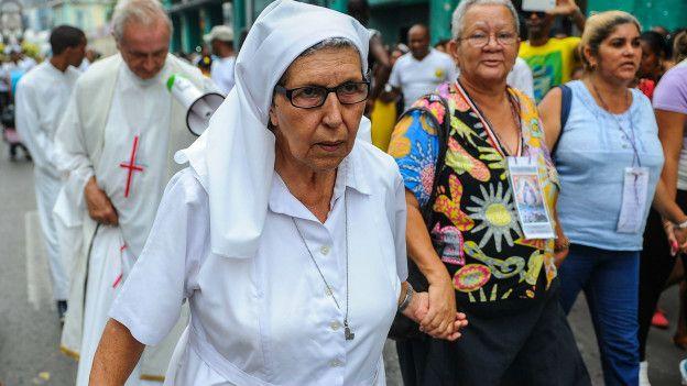 Desfile en Cuba