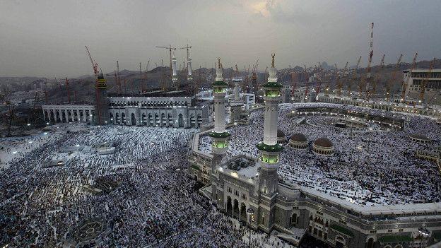 мечеть Аль-Харам в Мекке