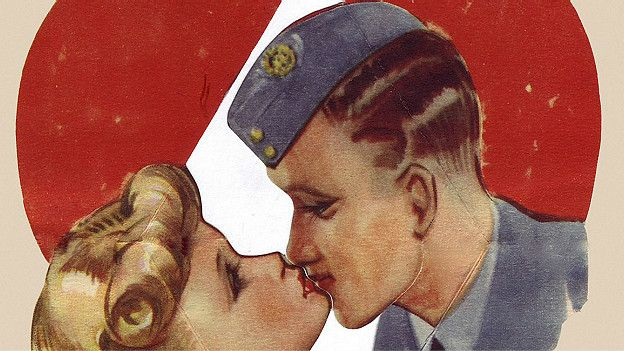 Besándose