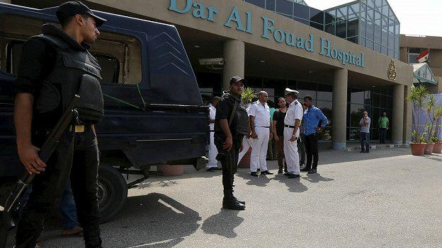 Hospital donde fueron llevadas las víctimas