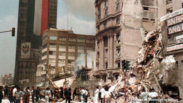 Resultado de imagen para 19 de septiembre de 1985 terremoto