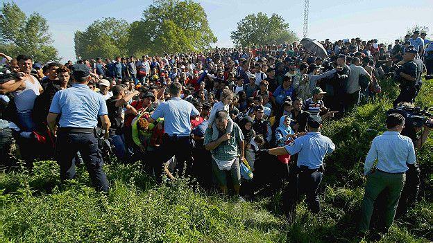 Столкновения на границе с Хорватией