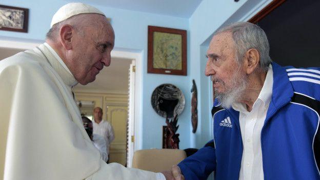 Fidel con Francisco