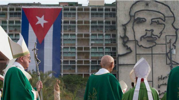 El papa Francisco en La Habana