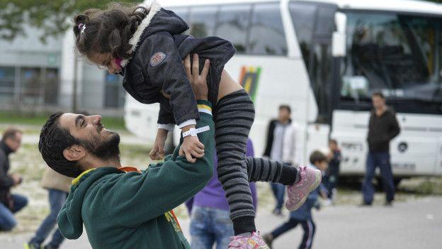 Сирийские беженцы в Германии