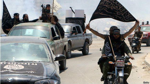 Боевики аль-Нусра в Сирии