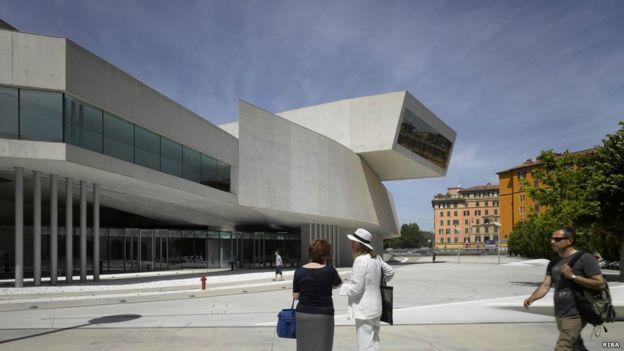 Maxxi Museo de Arte del Siglo XXI. RIBA