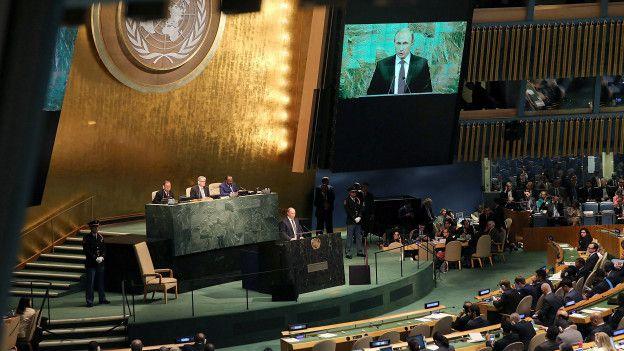 Putin en Naciones Unidas