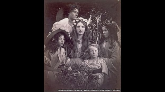 1ro de mayo, 1866. Foto: Julia Margaret Cameron