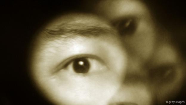 Un ojo visto muy de cerca