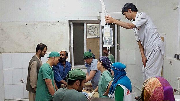 Heridos en el hospital