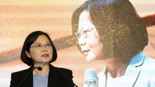 台灣2016年總統參選人蔡英文。