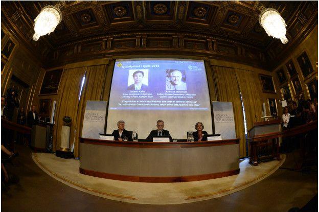 Объявление лауреатов по физике
