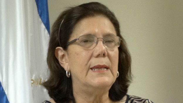 Marcia Ramírez, ministra de la Familia