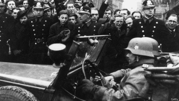 Invasión de tropas alemanas