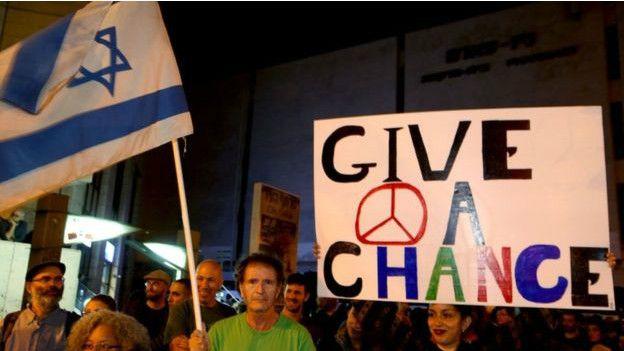 Manifestación por la paz